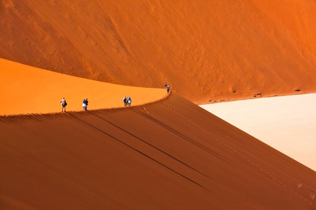 Wüste, Dühne in Namibia, Sossusvlei, Namibia © Ulrich Schreyer