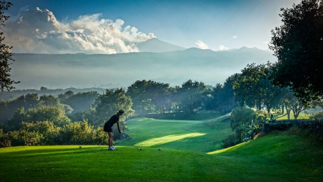 Golf-Fotografie: Il Pioccolo, Sizilien © Peter Sennhauser