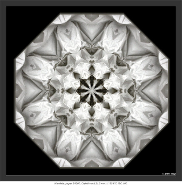 Mandala: paper