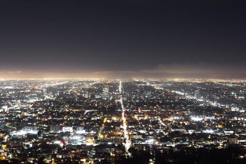 Urban Scape. Los Angeles bei Nacht. © Roman Becker