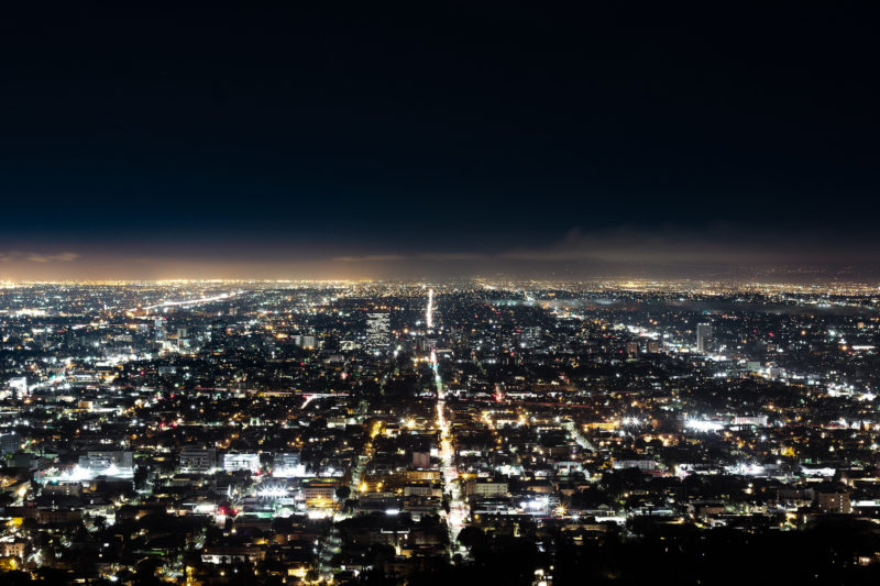 Nachtfotografie Los Angeles