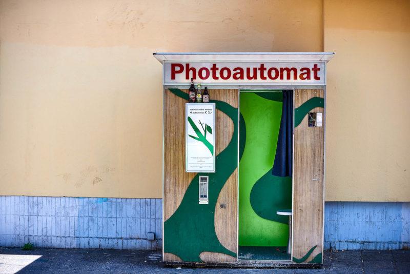 Der Fotoautomat mit etwas lebendigerem Innenleben