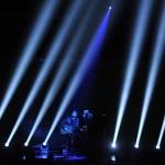 Bühnenshow: Sänger Eric Church beim amerikanischen Country Music Award (Photo by Chris Pizzello/Invision/AP)