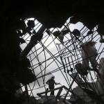 Eingestürzte Textilfabrik in Savar, Bangladesh (Keystone/AP Photo/Wong Maye-E)
