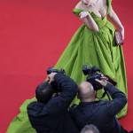Zhang Yuqi in Cannes, Frankreich (Keystone/AFP Photo/Loic Venance)