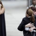Trauernde in New York, USA (Keystone/AP Photo/Julio Cortez)