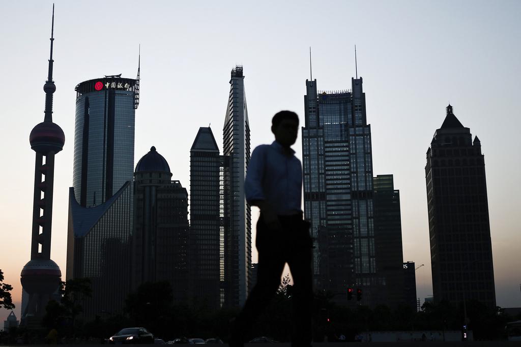 Die Skyline von Shanghai, China (AP Photo)
