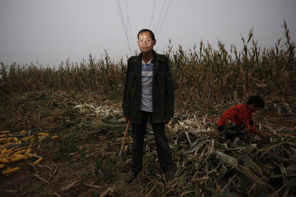 Porträts aus einer Serie zu umgesiedelten Bauern, Henan-Provinz China EPA/HOW HWEE YOUN