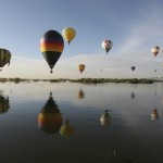 Ballonfestival in Leon, Mexiko (Keystone/AP Photo/Mario Armas)