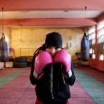 Boxerin im afghanischen Kabul (AP Photo/Massoud Hossaini)