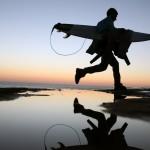 Am Strand von Ericeira, Portugal (Keystone/AP Photo/Francisco Seco)