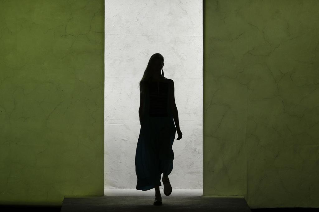 Modenschau in Rio de Janeiro, Brasilien (Keystone/AP Photo/Felipe Dana)