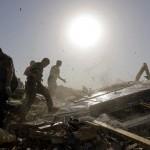 Aufräumarbeiten nach dem Tornado, Vilonia, Ark. USA, AP Photo/Eric Gay