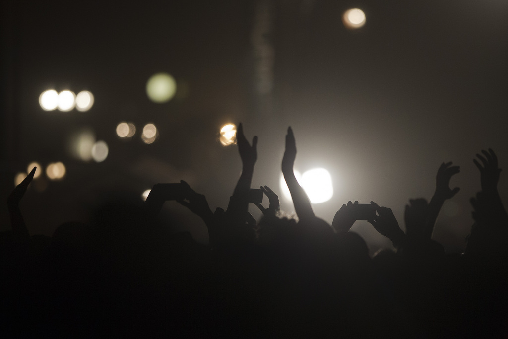 Konzert der Rolling Stones in Tel Aviv, Israel (Keystone/AP Photo/Ariel Shalit)