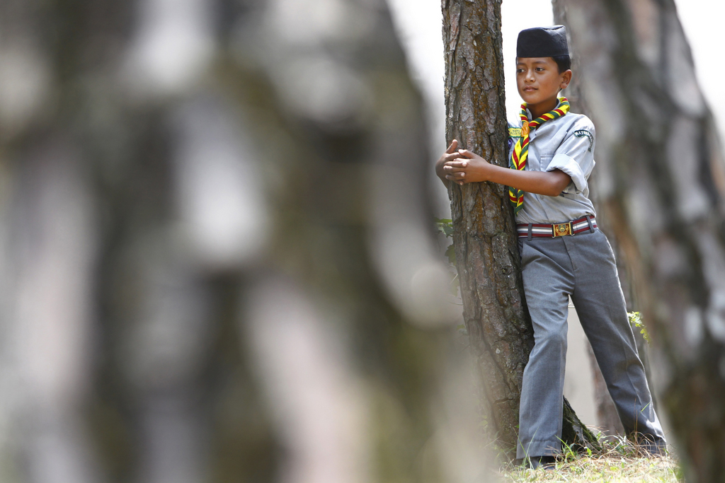 Weltumwelttag in Katmandu, Nepal (Keystone/AP Photo/Niranjan Shrestha)