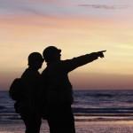 Erinnerung an den D-Day am Omaha Beach, Frankreich (Keystone/AP Photo/Thibault Camus)