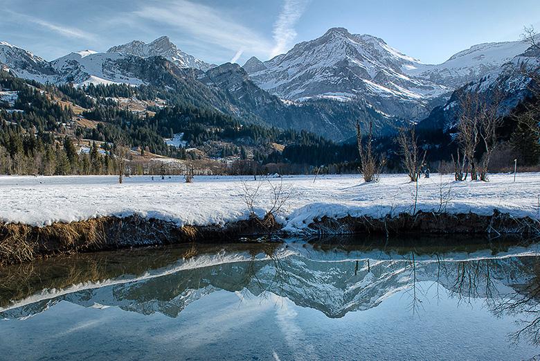 Wildhorn bei Lauenen im Berner Oberland