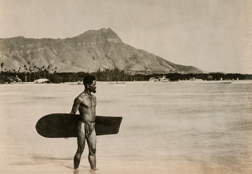 Waikiki, ca. 1890 - Courtesy Jim Heimann Collection/ TASCHEN