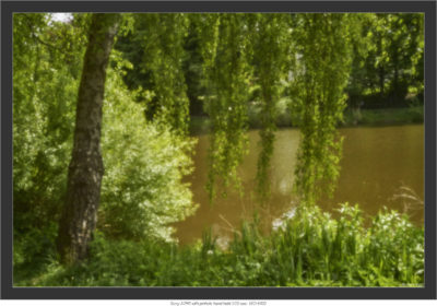 Sony A7RII with pinhole hand held