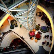 Architekturfotografie aus der MyZeil-Mall in Frankfurt