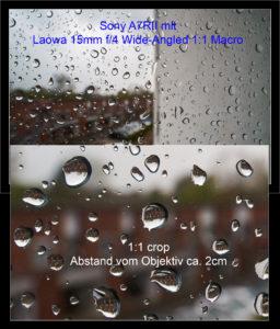 test water drops 15mm macro, distance 2cm, f/16