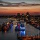 Hamburger Hafen, Nachfotografie
