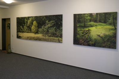 large print on canvas 3.20x1.20m and 1.60x1.20m